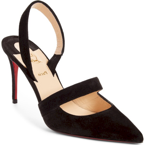 the latest a0be6 c4b0f Christian Louboutin Actina Slingback Pointy Toe Pump in ...