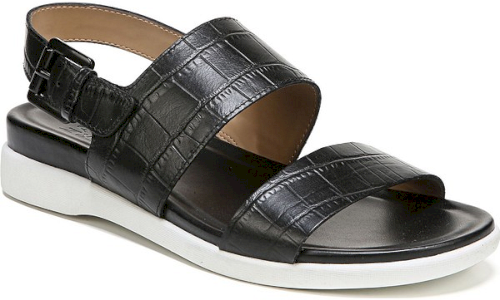 a28fbe471eee Naturalizer Emory Wedge Sandal in Black Black Wedge Sandals for Women UPC  727693859080
