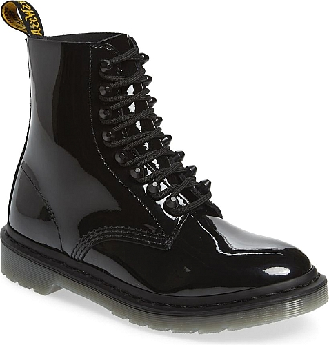 Dr. Martens Black Patent Leather