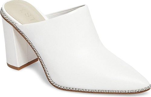 1.STATE White Leather