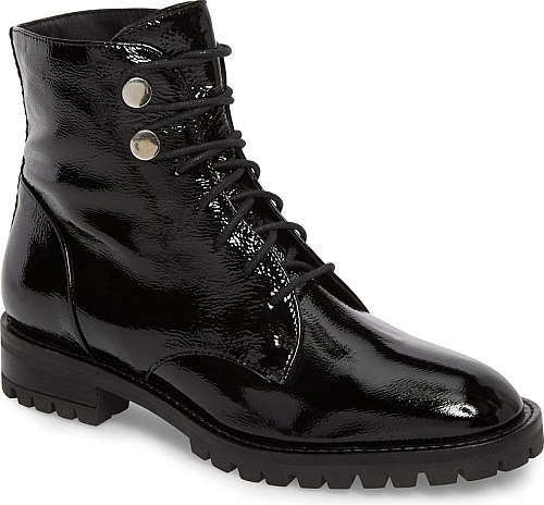 Kenneth Cole New York Black Patent Leather