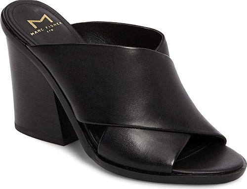 ff2ac5f4a6a Women s Marc Fisher Ltd Volla Sandal in Black Leather