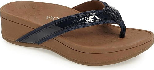 Vionic Navy Leather