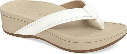 Vionic White Leather