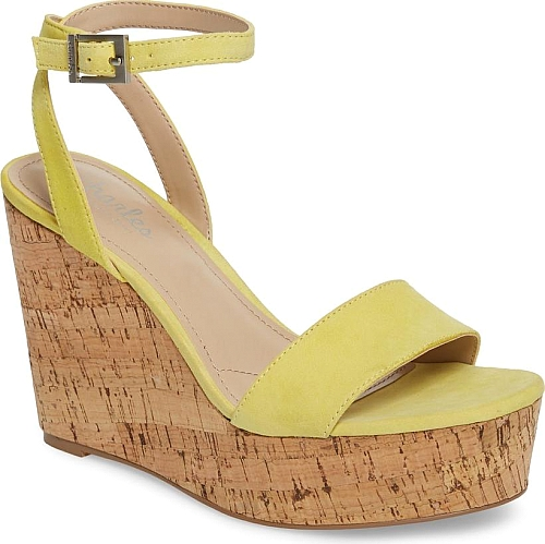 Charles by Charles David Yellow Suede