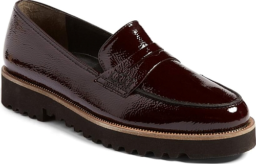 Paul Green Burgundy Patent