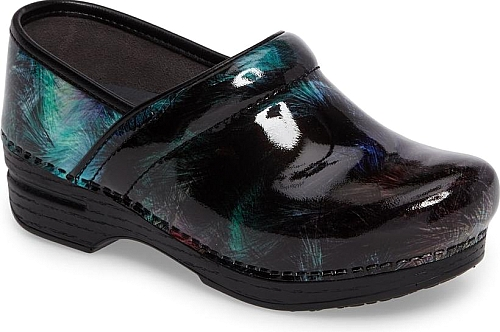 Dansko Brush Patent Leather