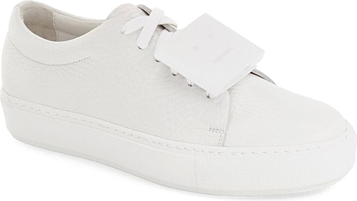ACNE Studios White Leather