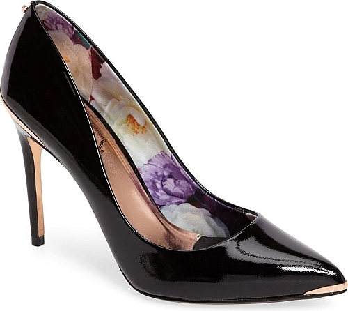 Ted Baker London Black Patent