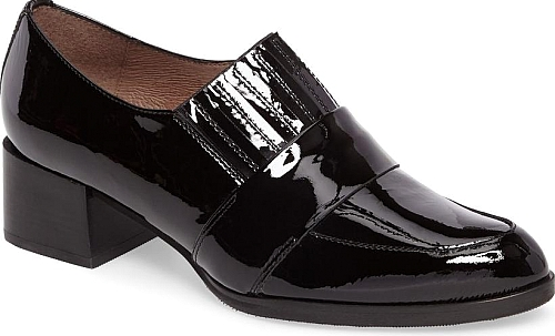 Wonders Black Patent Leather