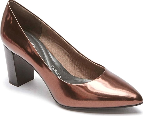 Rockport Bronze Patent Leather