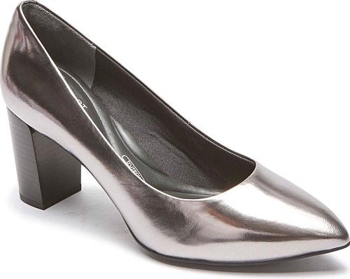 Rockport Pewter Patent Leather