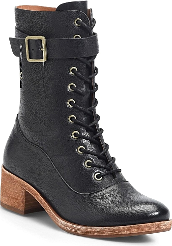 99beda1e9f4 Women s Kork-Ease Mona Lace-Up Boot in Black Leather