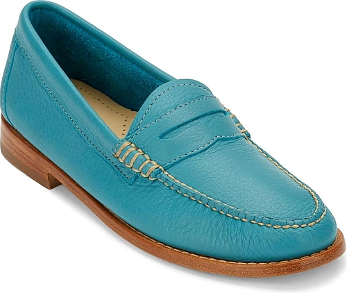 G.H. Bass & Co. Teal Leather