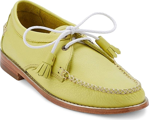 G.H. Bass & Co. Lemon Lime Leather