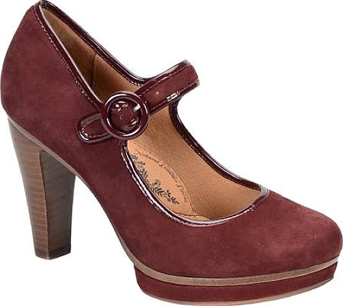 Sofft Aubergine King Suede