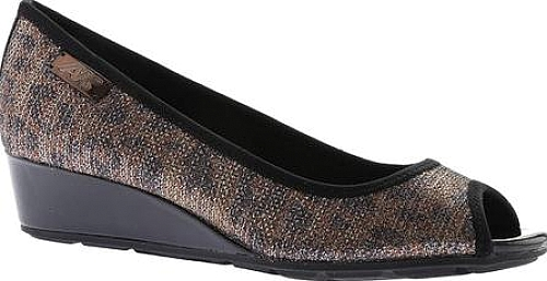 Anne Klein Bronze Black Combo Fabric