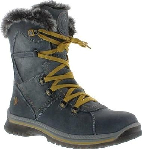 d6eb2e577 Santana Canada Majesta2 Short Boot in Grey Leather | World Shoe Trends