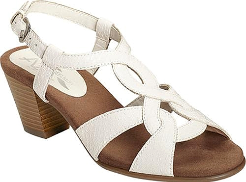 A2 by Aerosoles White Snake Printed Faux Leather
