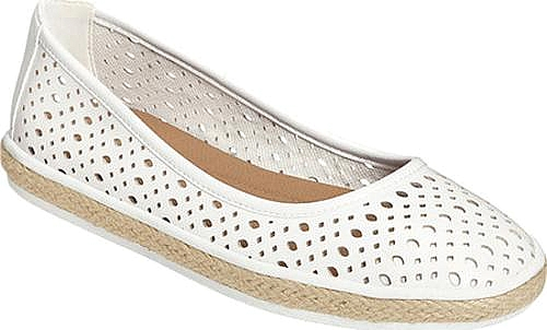 A2 by Aerosoles White Faux Leather