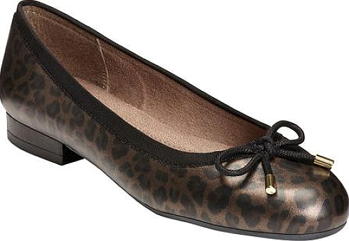 A2 by Aerosoles Leopard Combo Printed Fabric