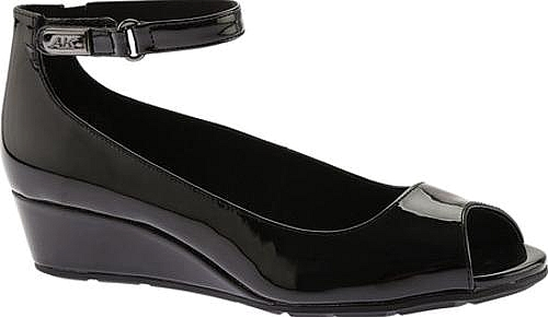 Anne Klein Black Patent Leather