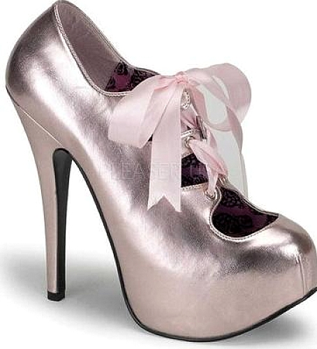 Bordello Pink Metallic PU