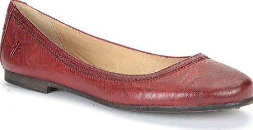 Frye Burnt Red Leather