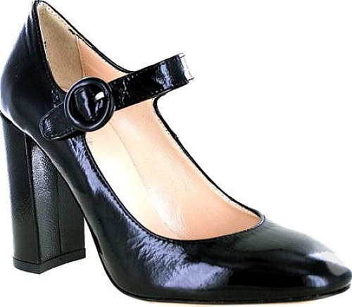 Summit White Mountain Black Patent Leather