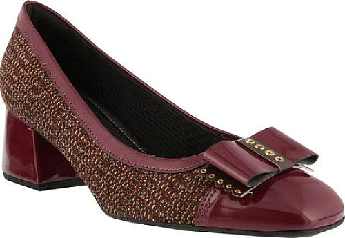 Spring Step Bordeaux Synthetic Patent