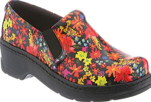 Klogs Neon Daisy Leather
