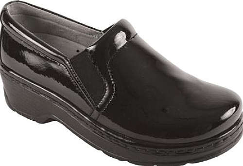 Klogs Black Patent