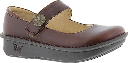 Alegria Paloma Women's Brown Slip On Euro