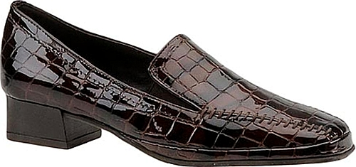 Amalfi Women's Matta Loafer Brown Slip On