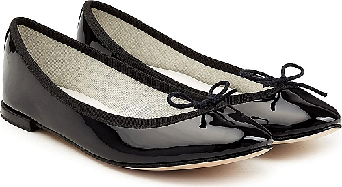 Repetto Cendrillon Patent Leather Ballerinas | Ballerinas | Black