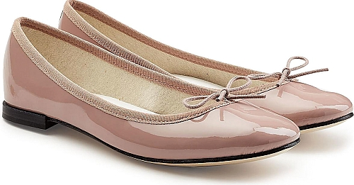 Repetto Cendrillon Patent Leather Ballerinas | Ballerinas | Magenta