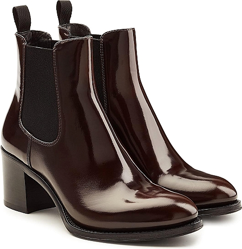 Church's Patent Leather Ankle Boots | Ankle Boots | Brown