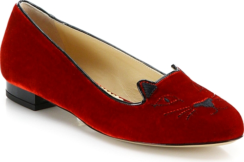 Charlotte Olympia Red