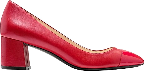 Dawna Leather Pumps | Pumps | Cole Haan | TANGO RED