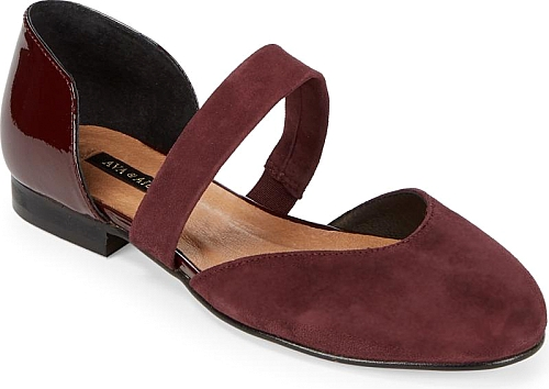 Jamania Mixed Media D'Orsay Flats | Flats | Saks Fifth Avenue |